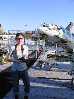 Lisa by whale float plane