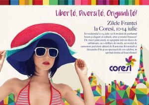 Kamerata Kronstadt şi Alexandra Fits te invită la sărbătorirea Zilei Franței la Coresi Mall
