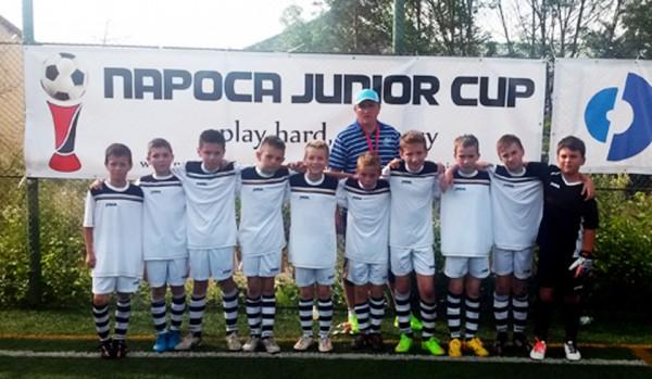 ACS Tâmpa 2005, comportare onorabilă la Napoca Junior Cup