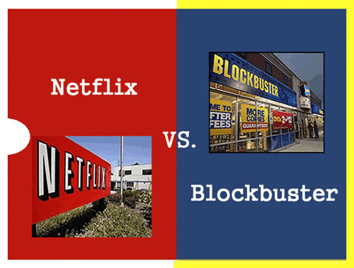Case study: Netflix vs Blockbuster vs Video-on-Demand