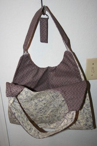 swing bag, open