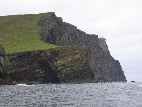 Foula's North Bank