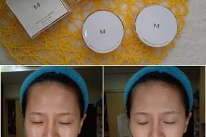 底妝|Missha 氣墊粉餅;媽呀,它有超強毛孔遮狹力!(銀盒、23號自然色)
