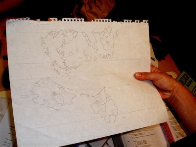Original planned UO map, photo by Cory Doctorow, CC BY-SA