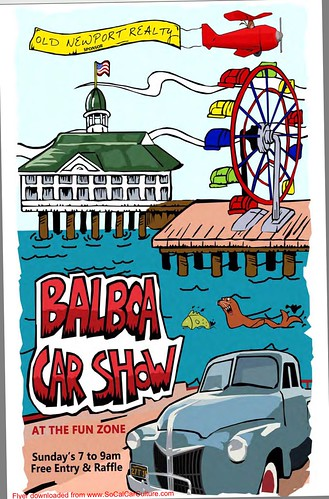 "NEWPORT CA USA - ""Balboa Car Show"" December 13 Sunday   7am to 9am - free to attend, raffle prizes, and free donuts - credit: www.SoCalCarCulture.com • <a style=""font-size:0.8em;"" href=""http://www.flickr.com/photos/134158884@N03/23668530585/"" target=""_blank"">View on Flickr</a>"