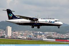 "Azul Linhas Aéreas - PR-AQB • <a style=""font-size:0.8em;"" href=""http://www.flickr.com/photos/69681399@N06/23516122251/"" target=""_blank"">View on Flickr</a>"