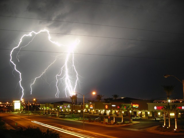 Lightning Show in Nevada