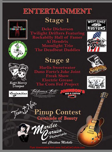 """RIVERSIDE CA USA - """"Rockabilly Extravaganza """" Nov 28 Saturday 9am to 6pm - free  to kids  and $10 per adult  - cars bikes bands vendors full bar - tattoo terminal, kids carnival rides,  pin up contest, war wold 2 planes, roller derby • <a style=""""font-size:0.8em;"""" href=""""http://www.flickr.com/photos/134158884@N03/23301007825/"""" target=""""_blank"""">View on Flickr</a>"""