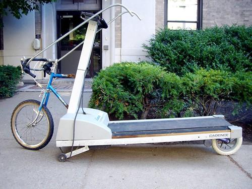 treadmill bike hack