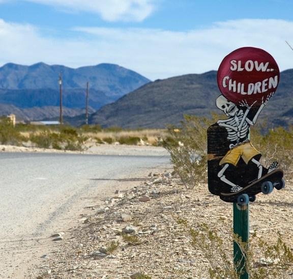 slow skeleton children at terlingua