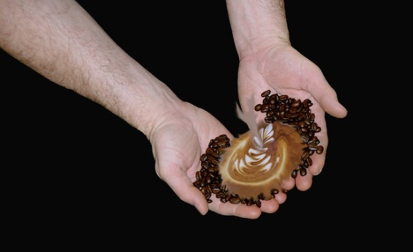 Hands on with latte art