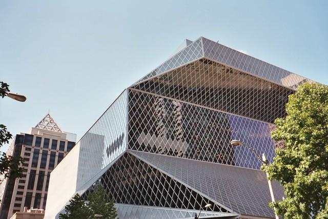 Rem Koolhaas Seattle Public Library