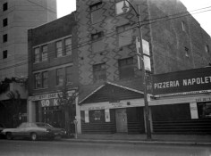 This Townsend & Townsend building once stood at 1140 Granville Street, 1981. COV Archives (CVA 779-E03.21A)