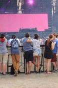 Picking a good spot | Festival d'été de Québec