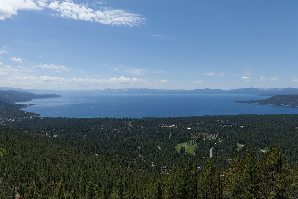 Lake Tahoe From Above