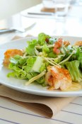 Steamed Shrimp Salad with Champagne Vinaigrette
