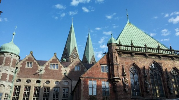 The Bremen skyline never fails to impress | No Apathy Allowed
