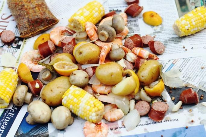 Sunday Dinner: Cajun Shrimp Boil