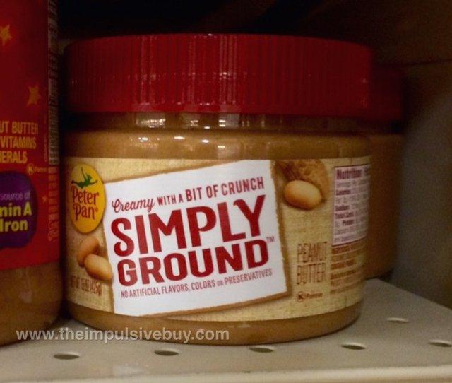 Peter Pan Simply Ground Peanut Butter