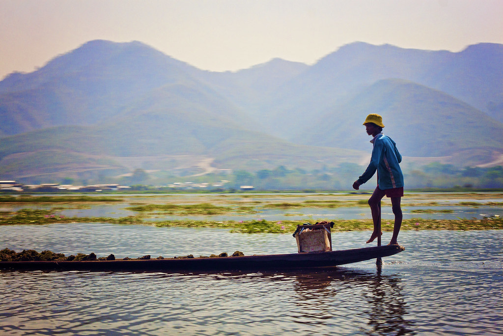Inle Lake. ©Simon Gonzaga