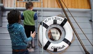 Climb aboard RCMP schooner St. Roch!