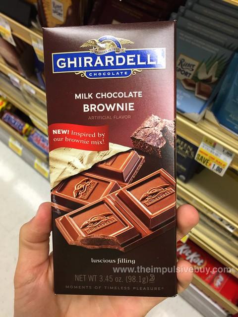 Ghirardelli Milk Chocolate Brownie Bar