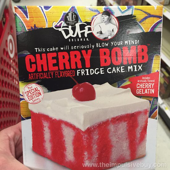 Charm City Cakes Duff Goldman The Special Edition Series Cherry Bomb Fridge Cake Mix