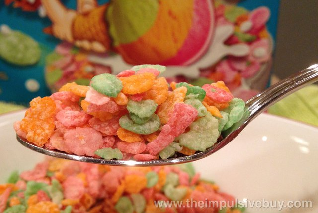 Post Rainbow Sherbet Ice Cream Pebbles Cereal Spoon
