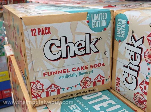 Chek Limited Edition Funnel Cake Soda