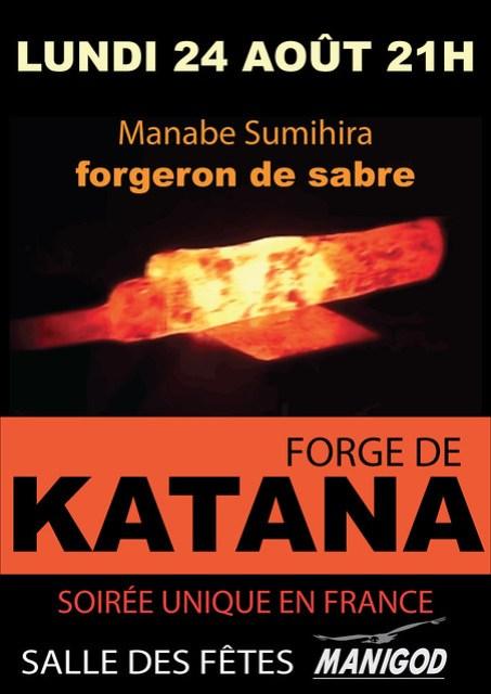 Forge de Katana, Manigod, 24 août 2015
