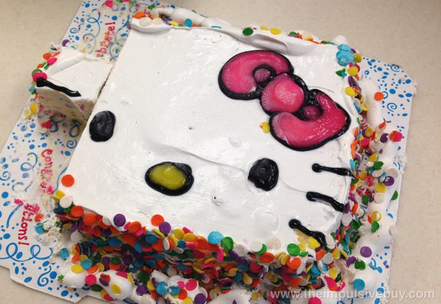 Hello Kitty Ice Cream Cake 2