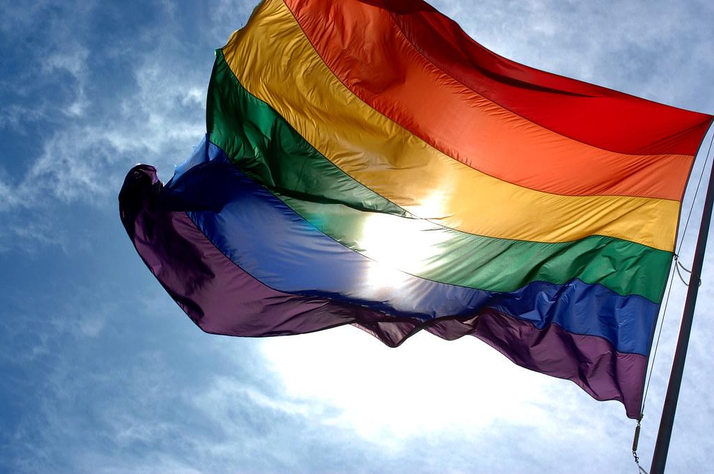 Imagen gratis de Bandera gay LGBT arcoíris: imágenes gratis del orgullo