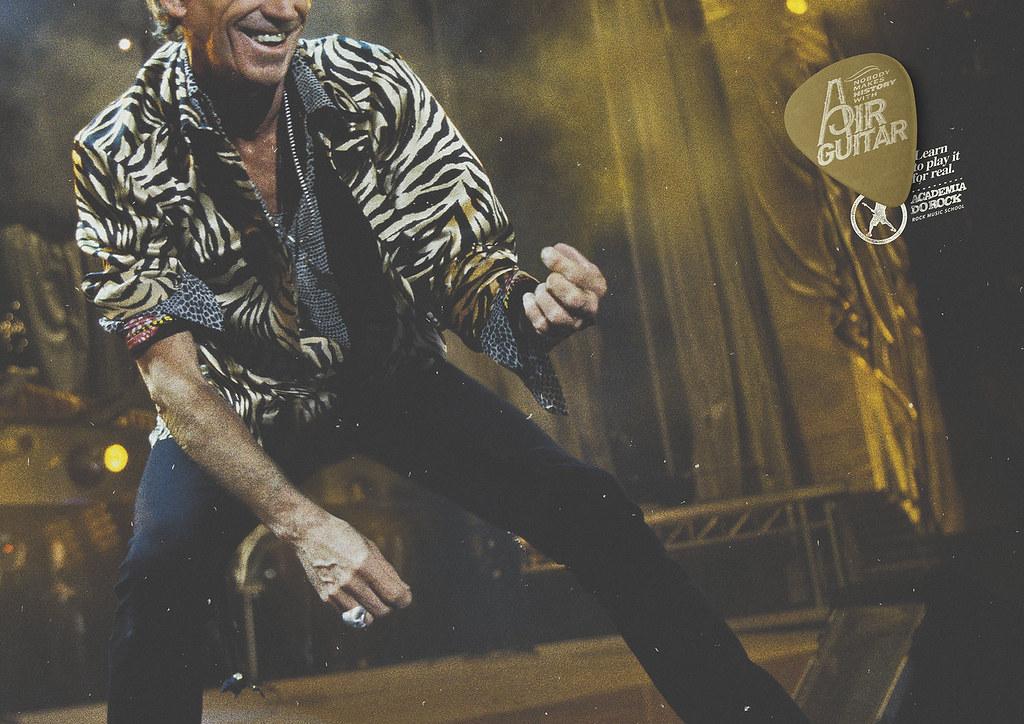 Academia do Rock Music School - Keith Richards