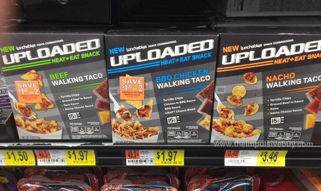 Lunchables Uploaded Walking Taco (Beef, BBQ Chicken, and Nacho)