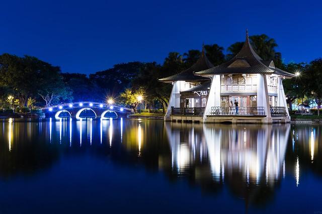 Taichung Park / 台中公園湖心亭