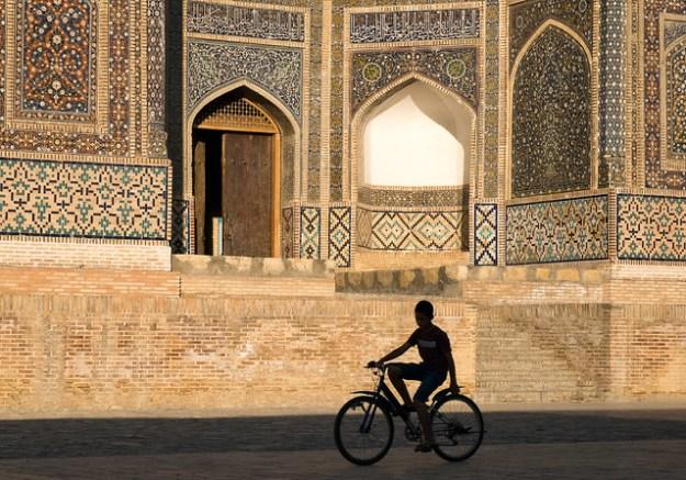 Late afternoon. Bukhara