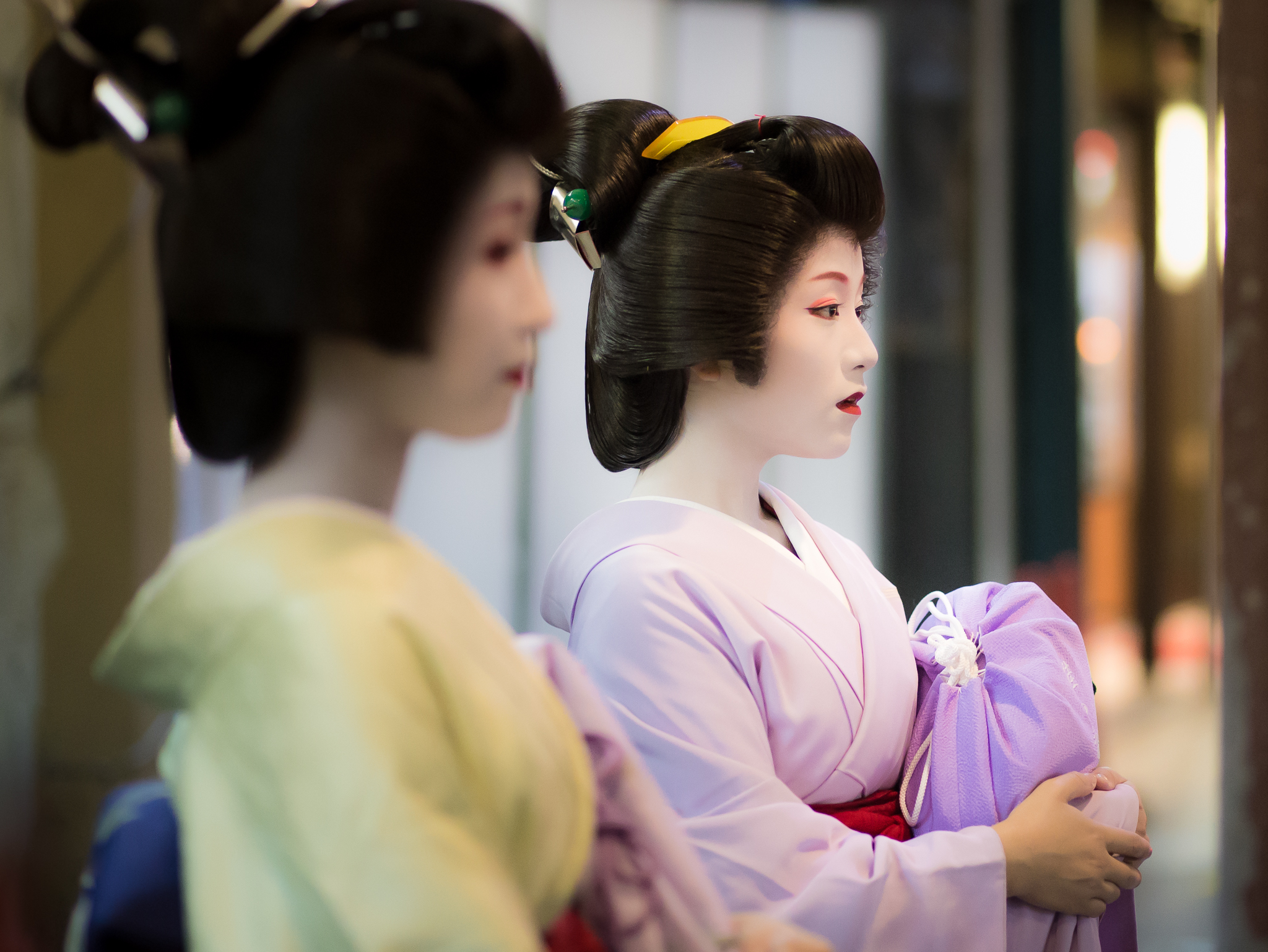 The lonely Geisha