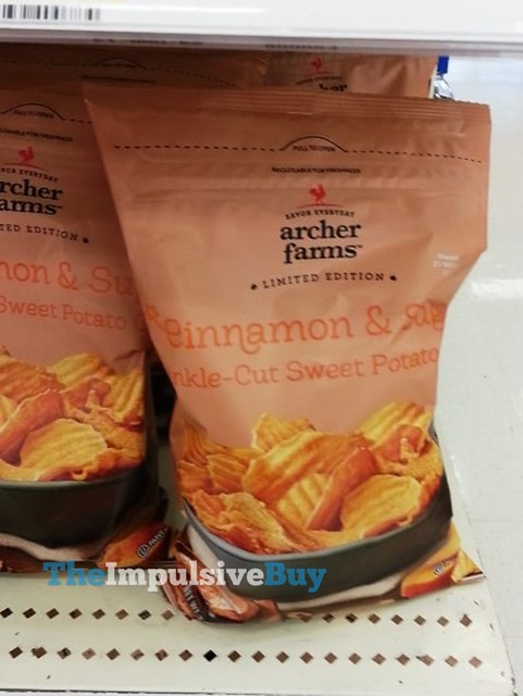 Archer Farms Limited Edition Cinnamon & Sugar Crinkle-Cut Sweet Potato Chips