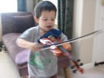 Dylan on Violin
