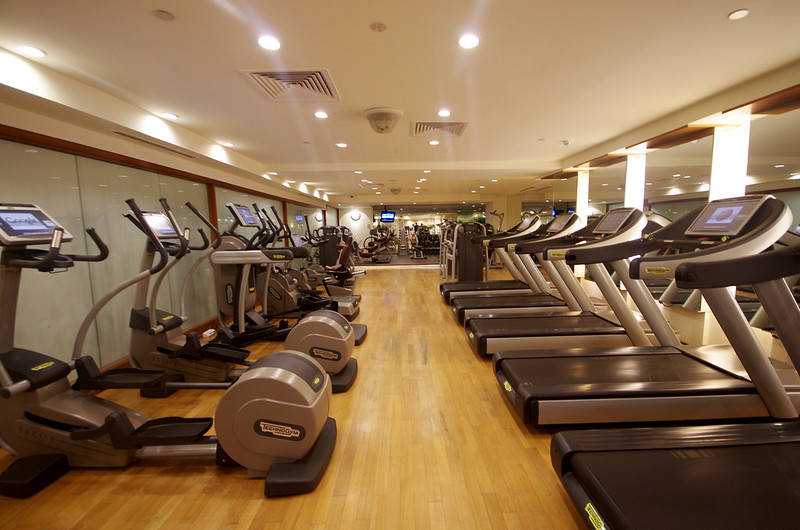 fullerton hotel gym