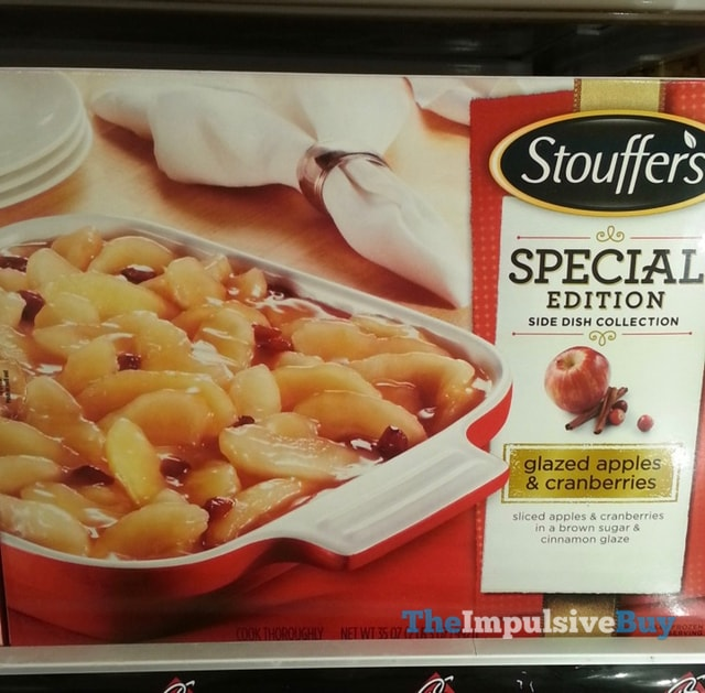 Stouffer's Special Edition Side Dish Collection Glazed Apples & Cranberries