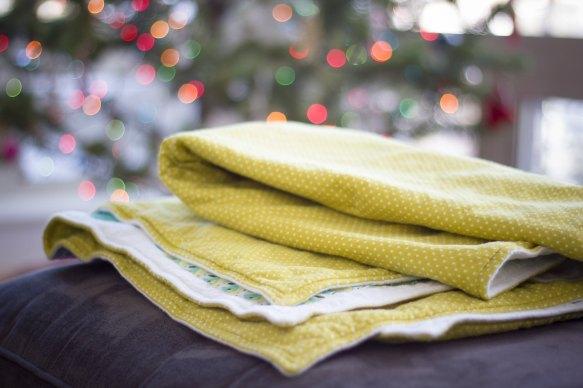 Forest friends flannel baby quilt pt. 2