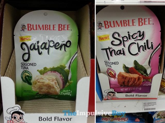 Bumble Bee Seasoned Tuna (Jalapeno and Spicy Thai Chili)