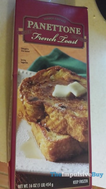 Trader Giotto's Panettone French Toast