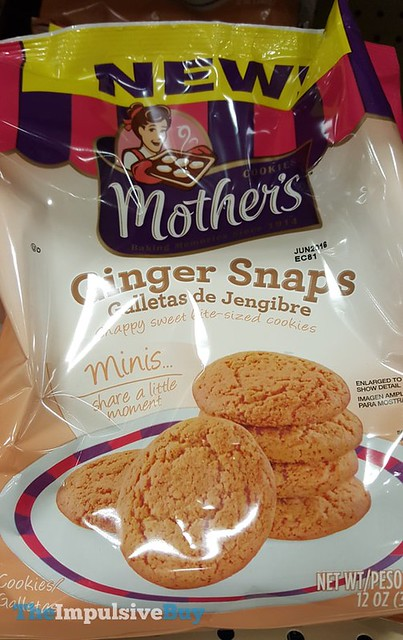 Mother's Ginger Snaps Minis