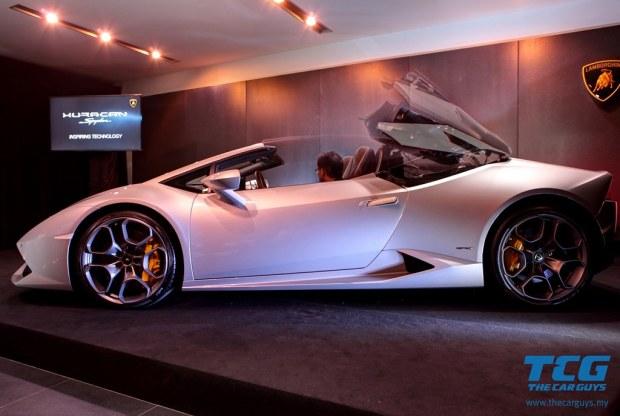 Lamborghini Huracán Spyder (4)