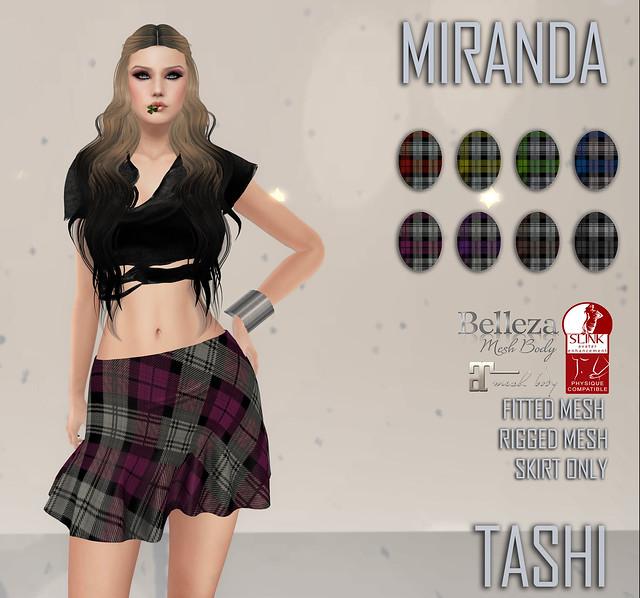 TASHI Miranda
