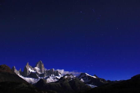 Noite no Cerro Fitz Roy