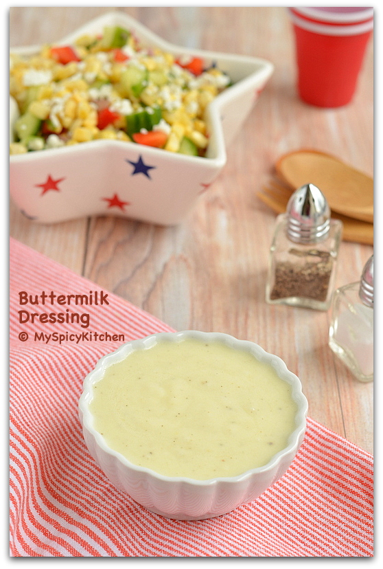 Buttermilk Dressing, Salad Dressing, Fresh Corn Salad