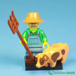 Collectible Minifigs Series 15 Farmer